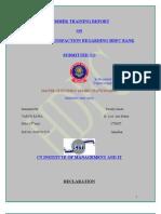 Customer Satisfaction Regarding Hdfc Bank