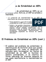 Características del Análisis de Estabilidad en SEP