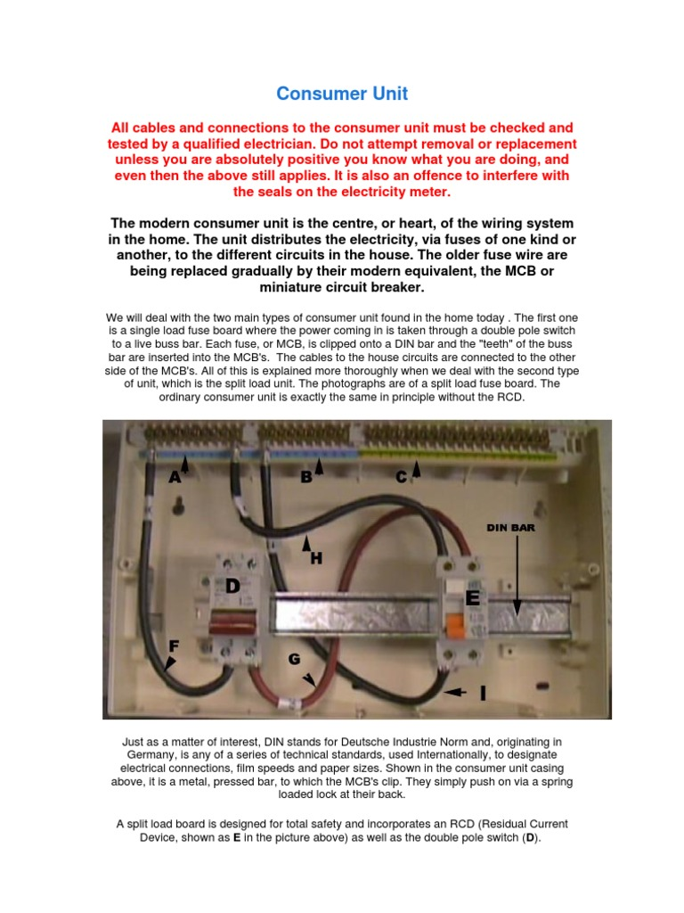 Consumer Unit Fuse Electrical Wiring Residence In Older Homes Fuses May Be Used Instead Of Circuit Breakers