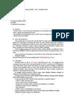 CHIST Gestão 2012 - Ata 4 (Reunião 17-3-2012)