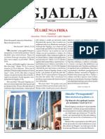 "Gazeta ""Ngjallja"" Maj 2009"