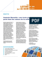 Centrale Marseille une école pionnière qui porte haut les valeurs de la solidarité sociale