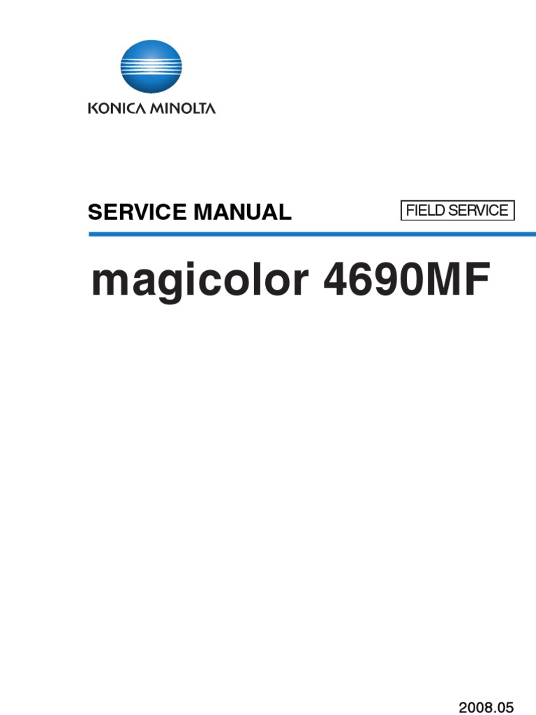 Magic Color 4690 Field Service | Electrical Connector | Ac Power Plugs And  Sockets