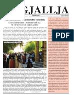 """Gazeta """"Ngjallja"""" Gusht 2011"""