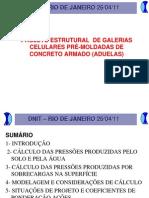 Palestra DNIT Aduela Galeria de Concreto