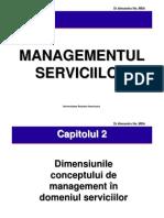 Mng Serviciilor - Cap.2
