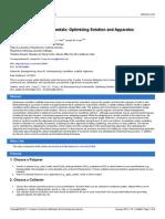Jove Protocol 2494 Electrospinning Fundamentals Optimizing Solution and Apparatus Parameters