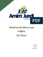 Histórico do tênis e sua origem