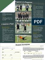 Brochure Scuola Calcio