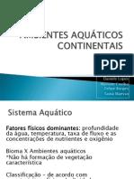 Ecossistema Aquatico Doce