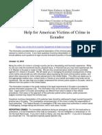 Ecuador Victim Assistance Handout - FINAL