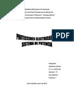 Protecciones Del Sistema Electrico
