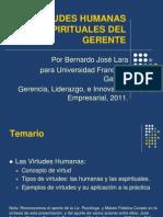Etica Virtudes Humanas Del Gerente