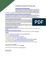 Nieuwsbrief Politie 2.0 nummer 135 19 juni 2012