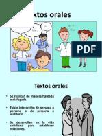 Textos orales