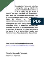 Idiomas en Venezuela