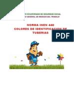 INEN_440 Colores de Identificación de Tuberías