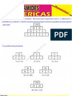2 Piramides Numericas y Operaciones Combinadas