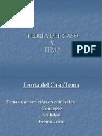 TEORÍA DEL CASO - FORMACIÓN DE FORMADORES