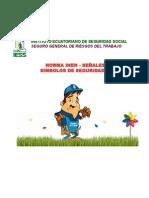 INEN 439 SEÑALES Y SIMBOLOS DE SEGURIDAD