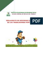 REGLAMENTO DE SEGURIDAD E HIGIENE DE LOS TRABAJADORES PORTUARIOS (ESTIBADORES)