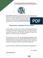 Como Posicionar Una Pagina Web y Solo Enlaces Relevantes