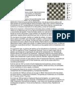 Historia Del Ajedrez en Guatemala