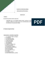 Informe Laboratorio nro UNIVERSIDAD MAYOR DE SAN ANDRES