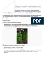 Fruticultura en General