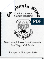 California Wing Cadet Encampment 1994