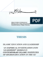 Islamic Educational Leadership Model