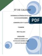 Cuestionario de Calidad.