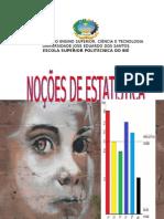 Noções de estatística melhorada, francisco lindume