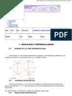 Paralelismo y Perpendicularidad Planos