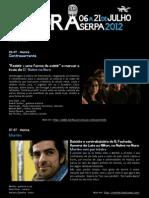 Noites na Nora 2012 | Programa