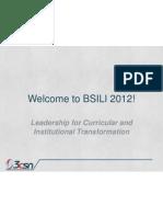BSILI 2012 Opening