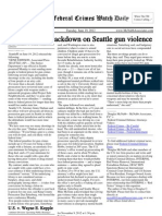 June 19, 2012 - The Federal Crimes Watch Daily