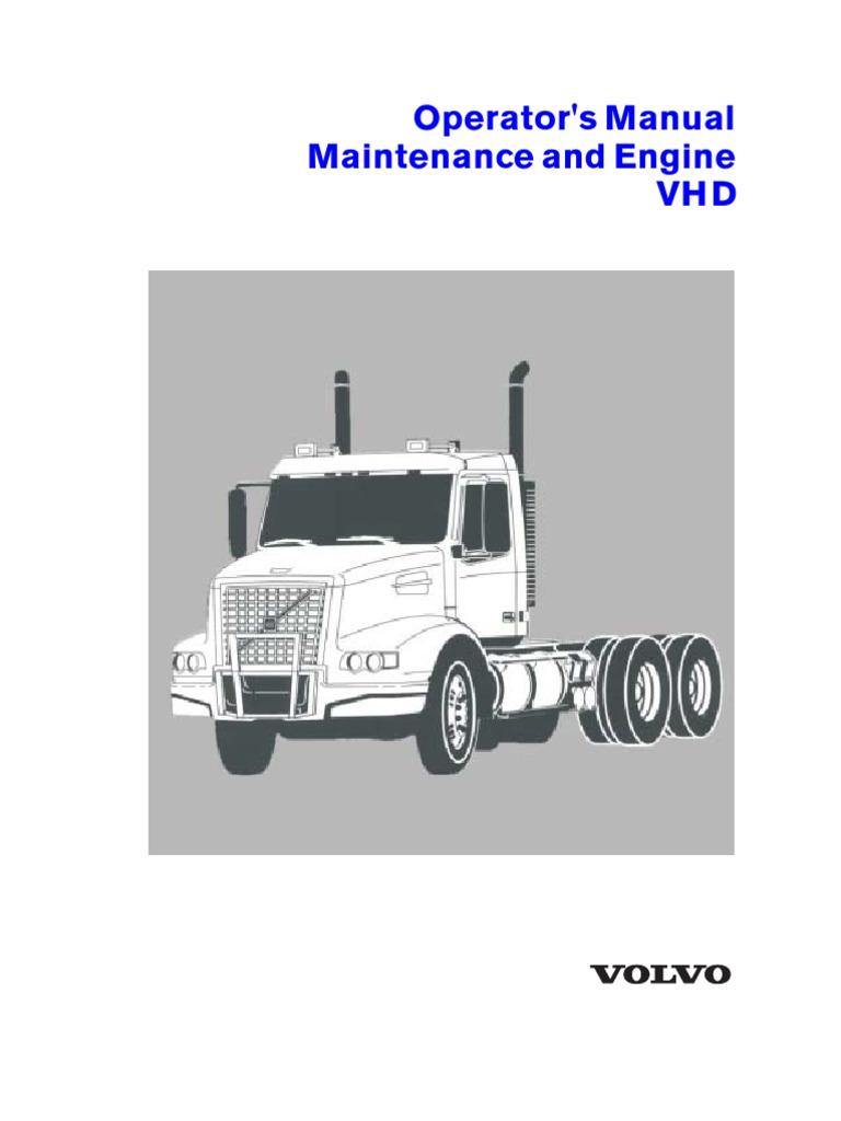 volvl d12 combustion engines rh scribd com Volvo VHD Dump Truck Volvo Engine Parts