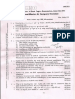 Mtech 2nd Sem - Question Papers - Year 2011