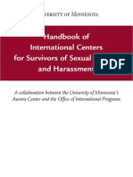 Sexual Assault Handbook International Resources