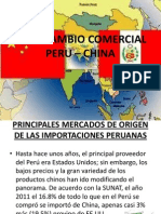 INTERCAMBIO COMERCIAL PERU – CHINA