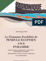 Pendule Egyptien Et Pyramide Ledain