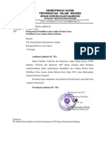 Surat Pemberitahuan PLPG