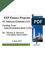 ACEF Indonesia Eximbank-ADB EE Finance Program 060612