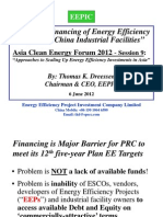 Thomas Dreessen - Scaling Up of Financing Energy Efficiency Projects at China Industrial Facilities