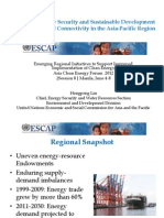 Hongpeng Liu - Enhancing Energy Security and Sustainable Development Through Regional Connectivity in the Asia-Pacific Region