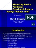 Herath Gunatilake - Valuing Electricity Service Attributes a Choice Experiment Study in Madhya Pradesh, India