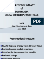 P N Fernando - Clean Energy Impact of South Asia Cross Border Power Trade
