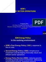 Yongping Zhai - ADB's Energy Sector Operations