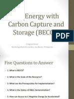 Criag Jamieson - Bio-Energy With Carbon Capture and Storage